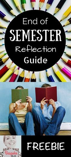 This product is for ANY CONTENT AREA and contains an end of semester reflection guide for students to reflect back on what they've learned and the new skills they've acquired during the first semester of your class.