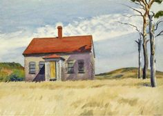 Edward Hopper - House with Dead Trees, 1932