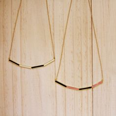 loving all the necklaces from the little dröm store