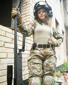 Top 50 Big Boobs Busty Military Girl Elena Deligioz Wallpapers with Guns Military Women, Military Female, Military Girl, Female Soldier, Armada, N Girls, Beauty Full Girl, Material Girls, Poses