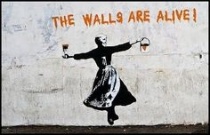 The Walls Are Alive  |  banksy @therealbanksy on Twitter