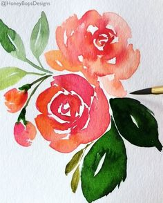 While my brushes are still out... Actually, they are always out! #watercolorfloral #watercolors #missiongold @mijello_mission #florals #creativeprocess #watercolorvideo @cansonpaper #watercolor #watercolorfloral #missiongold #flowers #artistic #art #artwork #creative #watercolorflorals #watercolorflowers #watercolorpainting #watercolorartist #watercolors #watercolorart #painting #paintingart #paintings #artcollective #art_help #artislife #art_empire #paintingoftheday #artsanity #artvideo ...