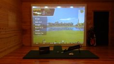 Golf Training and Practice Gear Projector Mount, Wall Clips, Short Throw Projector, Golf Simulators, Cool Tech, The Help, Badass, Outdoors, Training