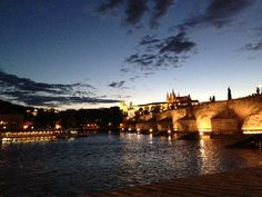 Prague Castle and Charles Bridge - right now :)