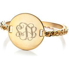 Monogram ring!