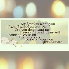 Give Into Me   Country Strong   Lyrics   Love   Leighton Meester   Garrett Hedlund