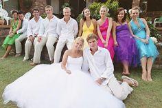 non matching bridesmaids - Google Search