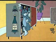 Still from the Tom & Jerry cartoon 'Buddies Thicker than Water' (1962) featuring Tom & Jerry