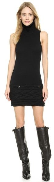 What Goes Around Comes Around Chanel Sleeveless Sweater Dress