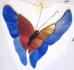 Stained Glass Butterfly Kit, come with what you see here, foil and a hoop for hanging.