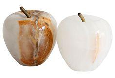 Onyx Apples, Pair on OneKingsLane.com