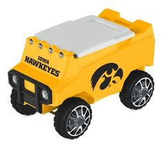 Let the fun begin with your remote control Iowa Hawkeyes Cooler. Holds 30 cans plus ice. Officially licensed by the NCAA. Free shipping. Excellent quality. Visit sportsfansplus.com for details.