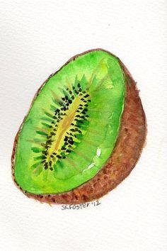 """Résultat de recherche d'images pour """"fruits aquarelles"""""""