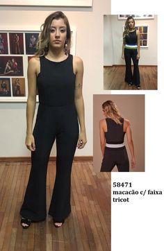 62 melhores imagens de Macacão preto   Beautiful dresses, Black ... 93630ea854
