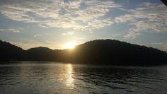 Sunset on Norris  Lake.