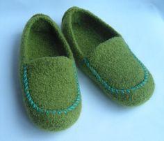 Women's Felted Cozy Moc Slippers