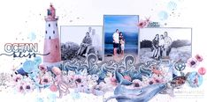 Celebr8 Ocean Bliss Crashing Waves, Majestic Animals, Bliss, Scrap, African, Memories, Drawings, Artwork, Projects