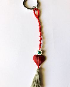 Macrame Rings, Macrame Jewelry, Macrame Bracelets, Love Bracelets, Tassel Necklace, Handmade Jewelry, Handmade Items, Evil Eye Ring, Heart Patterns