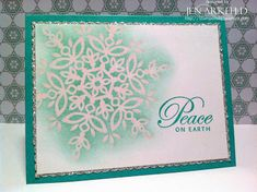 Peaceful Snowflake by iafarmgirl1 - Cards and Paper Crafts at Splitcoaststampers