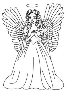 christmas angel coloring page christmas angel coloring page pinterest coloring pages christmas angels and coloring