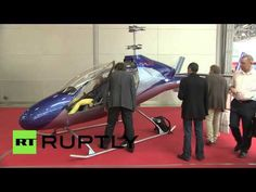 Meet Afalina: Russia reveals ultra-light low cost helicopter - YouTube
