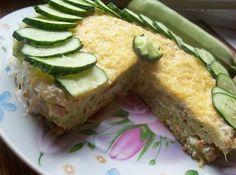 Шустрый повар.: Капустно-кабачковый закусочный торт