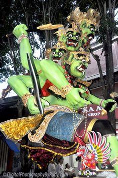 Ogoh-ogoh at Nyepi Day, Bali