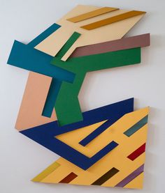 Targowica III, 1973 by Frank Stella on Curiator, the world's biggest collaborative art collection. Op Art, Abstract Painters, Abstract Art, Abstract Sculpture, Frank Stella Art, Joseph Albers, Post Painterly Abstraction, Picasso Paintings, Art Walk