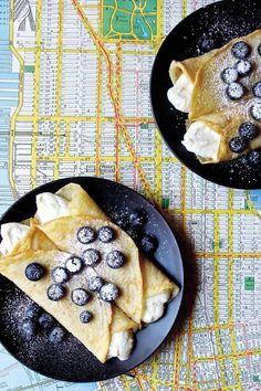 Vegan Blueberry Blintzes from Mastering the Art of Vegan Cooking