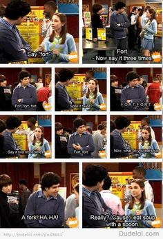 Drake & Josh! Tried this on my cousins and it didn't work =( they all remembered this episode!