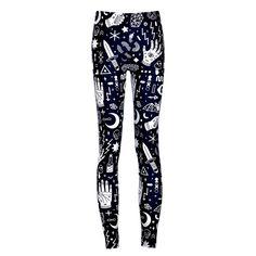 New Arrival Fashion Women Legging pattern Digital Print Fitness Leggings Sports Pants Punk Trousers Jeggings Drop Shipping