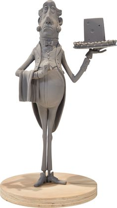 The Boxtrolls Butler Maquette (LAIKA, 2014).... Animation | Lot #94197 | Heritage Auctions