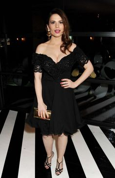 Hayley Atwell at Instyle Best Of British Talent Party