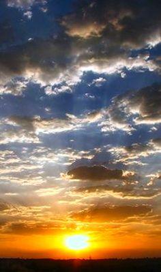 Sunrise-   For my friend, John. Have a wonderful day.