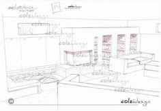Monoblocco AustroFlamm con rivestimento a uso Libreria