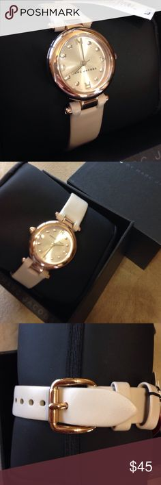 Mj1466 New in box. Authentic.  Rose gold Marc by Marc Jacobs Accessories Watches