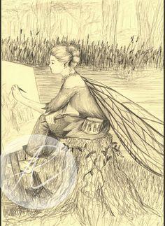 Fairy Artist sketch