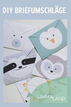 Du möchtest mit den Kids Briefe an Oma und Opa, den Weihnachtsmann, Christkind und Co. schicken? Bei uns findest du einen kostenlosen Download für DIY Briefumschläge und eine Bastelanleitung für einen Postkasten - www.limmaland.com