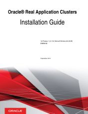 Oracle Real Application Clusters Installation Guide for Microsoft Windows