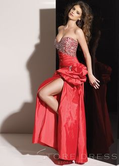Sexy A-Line Beading Sweetheart Prom/Evening Dress at Storedress.com