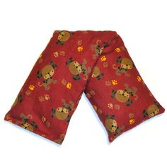 Cherry Pit Heating Pad  Puppies  Microwaveable by CherryPitCrafts