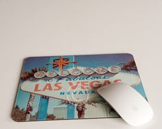Las Vegas Strip Photography, Las Vegas Sign, Las Vegas Mousepad, Las Vegas Art, Fathers Day Gift, Mousepad by MaxplanationPhotos on Etsy