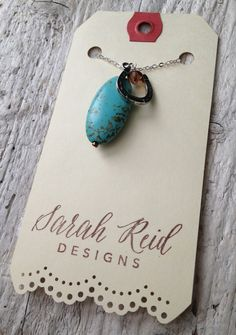 DIY Jewelry Tags Packaging Ideas | My Jewelry Display Tags | Sarah Reid | Jewelry Making Journal
