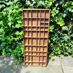 Wood Shadow Box Vintage Treasury Display Case Box Tray, $46