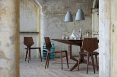 Industrial designer Matthew Hilton photographed his furniture at Landguard Fort in Felixtowe, a historic location, exploding with character.