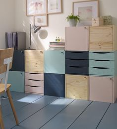 Often Tip Storage Office Latest Tip Storage Student Room - Ikea DIY - The best IKEA hacks all in one place Ikea Storage Cubes, Toy Storage, Storage Ideas, Furniture Plans, Diy Furniture, Modular Furniture, Ideas Hogar, Ideias Diy, Office Decor