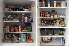 #BeforeAndAfter of my client's pantry! And of course, bins and canisters are the best option. First, we declutter (remember, less is more) in order to maximize the storage. Then we use bins and canisters by categories with labels so it's easier to find the products. The process can be long but the satisfaction it gives you when it's all organized and in perfect shape is wonderful!  #LifestyleBasics #Lifestyle #Basics #LifestyleBlogger #Blogger #CleverTips #Tips #Organizer #Organizing…