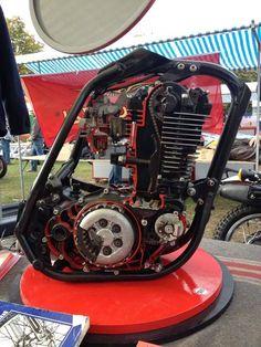 #yamaha #xt500 #engine