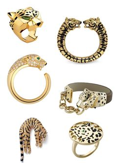 Cartier Panthere Collection.