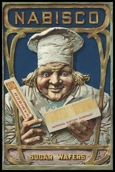 Sugar Wafers Ad I used to love these, but this ad is frightening!